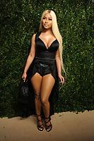 NEW YORK, NY - NOVEMBER 6: Nicki Minaj at the 14th Annual CFDA Vogue Fashion Fund Gala at Weylin in Brooklyn, New York City on November 6, 2017. <br /> CAP/MPI/JP<br /> &copy;JP/MPI/Capital Pictures