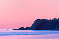 Gulf of St. Lawrence at dusk<br /> Trout River<br /> Newfoundland &amp; Labrador<br /> Canada