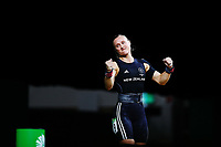 Andrea Hams of New Zealand competes in the Women's 69kg Final. Gold Coast 2018 Commonwealth Games, Weightlifting, Gold Coast, Australia. 8 April 2018 © Copyright Photo: Anthony Au-Yeung / www.photosport.nz