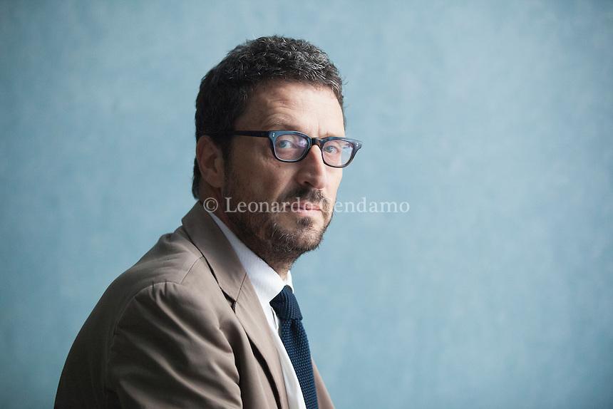 Pietrangelo Buttafuoco (Catania, 2 settembre 1963) è un giornalista e scrittore italiano. Pordenonelegge settembre 2016. © Leonardo Cendamo