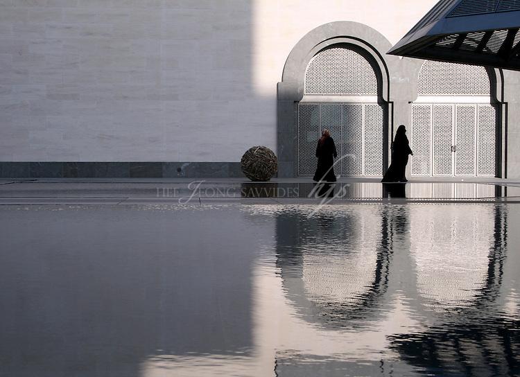 Local Ladies at the Museum of Islamic Art, Doha, Qatar | Dec 08