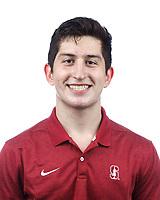 Stanford, CA - September 20, 2019: Cam Slovic, Athlete and Staff Headshots
