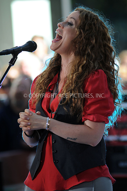 WWW.ACEPIXS.COM . . . . . ....May 23 2008, New York City....Recording artist Alanis Morissette performed for NBC's 'Today' show at the Rockefeller Plaza in midtown Manhattan.....Please byline: KRISTIN CALLAHAN - ACEPIXS.COM.. . . . . . ..Ace Pictures, Inc:  ..(646) 769 0430..e-mail: info@acepixs.com..web: http://www.acepixs.com