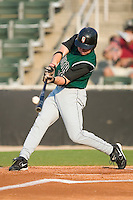 Augusta's Ben Copeland connects for a home run on the first pitch of the game versus the Kannapolis Intimidators at Fieldcrest Cannon Stadium in Kannapolis, NC, Saturday, June 17, 2006.
