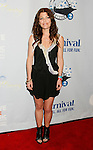 "SAN PEDRO, CA. - March 26: Erin McCarley arrives at the ""One Splendid Evening"" sponsored by Carnival Cruise Lines and benefiting VH1 Save The Music held on the Carnival Splendor at Port Of Los Angeles on March 26, 2009 in San Pedro, California."