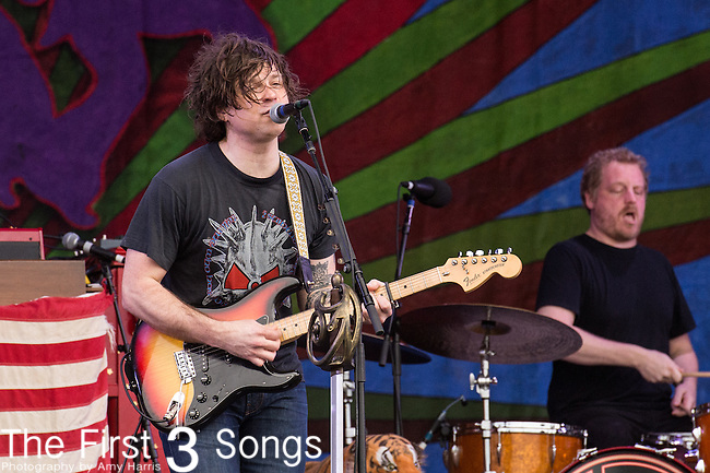 Ryan Adams performs during the 2015 New Orleans Jazz & Heritage Festival in New Orleans, Louisiana.