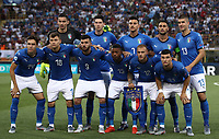 Football: Uefa under 21 Championship 2019, Italy -Poland, Renato Dall'Ara stadium Bologna Italy on June19, 2019.<br /> Italy players pose for the pre match photograph prior to the Uefa under 21 Championship 2019 football match between Italy and Poland at Renato Dall'Ara stadium in Bologna, Italy on June19, 2019.<br /> UPDATE IMAGES PRESS/Isabella Bonotto