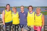 The Callinafercy senior ladies who took bronze at their regatta on Sunday pictured l-r; Laura Jennings, Mary O'Sullivan, Kieran O'Sullivan(Cox), Sandra Lambe & Margot Lawlor.