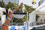 Sayaka Mizoe, MAY 6, 2012 - Beach Volleyball : JBV Tour 2012 Sports Club NAS Open  Women's final at Odaiba Beach, Tokyo, Japan. (Photo by Yusuke Nakanishi/AFLO SPORT) [1090]