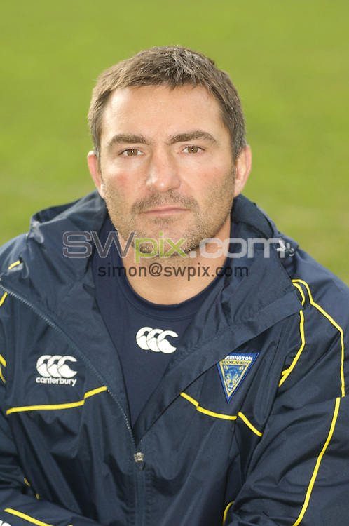 PICTURE BY Warrington Wolves - Rugby League - Warrington Wolves Media Day - Warrington, England - 28/01/08...Copyright - Simon Wilkinson - 07811267706..Warrington Wolves Paul Cullen.