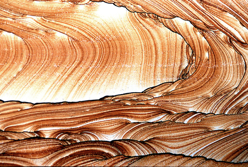"Detail of a slab of Kanab Wonderstone. Known for it's beautiful ""landscape pattern and vivid colors, this stone is mined just outside Kanab Utah, and is made into products sold nationwide."