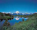 Mount Moran and the Snake River at Oxbow Bend, Grand Teton National Park, Jackson, Wyoming, USA. .  John leads private photo tours throughout Colorado. Year-round Colorado photo tours. John offers private photo tours in Grand Teton National Park and throughout Wyoming and Colorado. Year-round.