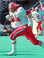 Eugene Belliveau Calgary Stampeders 1989. Photo Scott Grant