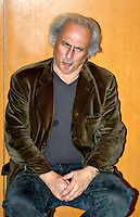 Roma 12 12 2004 Fiera dell'Editoria<br /> Stefano Benni Scrittore<br /> Foto Serena Cremaschi Insidefoto