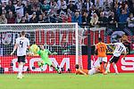 06.09.2019, Volksparkstadion, HAMBURG, GER, EMQ, Deutschland (GER) vs Niederlande (NED)<br /> <br /> DFB REGULATIONS PROHIBIT ANY USE OF PHOTOGRAPHS AS IMAGE SEQUENCES AND/OR QUASI-VIDEO.<br /> <br /> im Bild / picture shows<br /> <br /> Jasper CILLESSEN (Niederlande / NED #01)<br /> Marco Reus (Deutschland / GER #11)<br /> Quincy PROMES (Niederlande / NED #11)<br /> <br /> während EM Qualifikations-Spiel Deutschland gegen Niederlande  in Hamburg am 07.09.2019, <br /> <br /> Foto © nordphoto / Kokenge