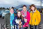 Bridget Doona, Patch, Ava and Annette Houlihan and Caroline O'Connor at the Mary Kate Healy memorial walk in aid of Crumlin Childrens Hospital at the Killarney Oaks Hotel on Saturday
