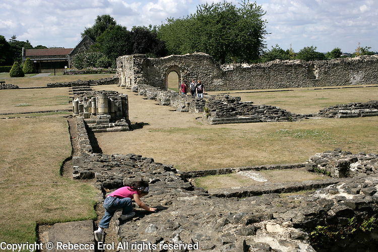Lesnes Abbey, Abbey Wood, London, UK