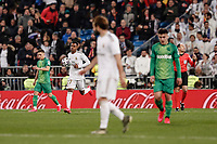 6th February 2020; Estadio Santiago Bernabeu, Madrid, Spain; Copa Del Rey Football, Real Madrid versus Real Sociedad; Rodrygo (Real Madrid)  celebrates his goal which made it 2-4
