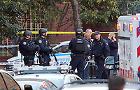 www.acepixs.com<br /> <br /> October 31 20167, New York City<br /> <br /> General views of law enforcement following a terrorist attack in downtown Manhattan on October 31 2017 in New York City<br /> <br /> <br /> <br /> By Line: Philip Vaughan/ACE Pictures<br /> <br /> <br /> ACE Pictures Inc<br /> Tel: 6467670430<br /> Email: info@acepixs.com<br /> www.acepixs.com