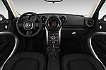 Stock photo of straight dashboard view of 2016 MINI Countryman Countryman 5 Door Hatchback Dashboard
