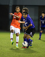 The number 24 ranked Furman Paladins took on the number 20 ranked Clemson Tigers in an inter-conference game at Clemson's Riggs Field.  Furman defeated Clemson 2-1.  Alexandra Rome'o Happi (15), Martin Ontiveros (10)