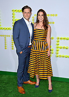 Sara Bareilles &amp; Joe Tippett at the premiere for &quot;Battle of the Sexes&quot; at the Regency Village Theatre, Westwood, Los Angeles, USA 16 September  2017<br /> Picture: Paul Smith/Featureflash/SilverHub 0208 004 5359 sales@silverhubmedia.com