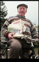 BNPS.co.uk (01202 558833)<br /> Pic: BNPS<br /> <br /> Ted pedals through the 80 barrier in 2000.<br /> <br /> The world's oldest paperboy is planning his last round after 71 years of delivering his beloved local newspaper.<br /> <br /> Tireless Ted Ingram, 93, took up the part-time job when he was just 22 as an additional income but loved it so much he never gave it up.<br /> <br /> During his career he has dropped more than 500,000 newspapers through letterboxes in the village of Winterborne Monkton, near Dorchester, Dorset.