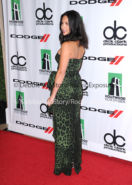 Olivia Munn attends The 17th Annual Hollywood Film Awards held at The Beverly Hilton Hotel in Beverly Hills, California on October 21,2012                                                                               © 2013 Hollywood Press Agency