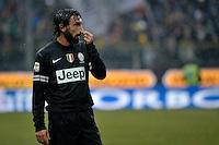 Andrea Pirlo  Juventus.Calcio Parma vs Juventus.Campionato Serie A - Parma 13/1/2013 Stadio Ennio Tardini.Football Calcio 2012/2013.Foto Federico Tardito Insidefoto.