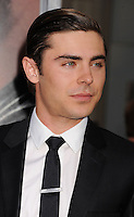 HOLLYWOOD, CA - APRIL 16: Zac Efron attends the Los Angeles premiere of 'The Lucky One' at Grauman's Chinese Theatre on April 16, 2012 in Hollywood, California. /NortePhoto.com<br />