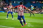 Atletico de Madrid's player Stefan Savic during match of UEFA Champions League at Vicente Calderon Stadium in Madrid. September 28, Spain. 2016. (ALTERPHOTOS/BorjaB.Hojas)