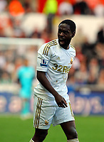 Saturday, 20 October 2012<br /> Pictured: Nathan Dyer of Swansea<br /> Re: Barclays Premier League, Swansea City FC v Wigan Athletic at the Liberty Stadium, south Wales.