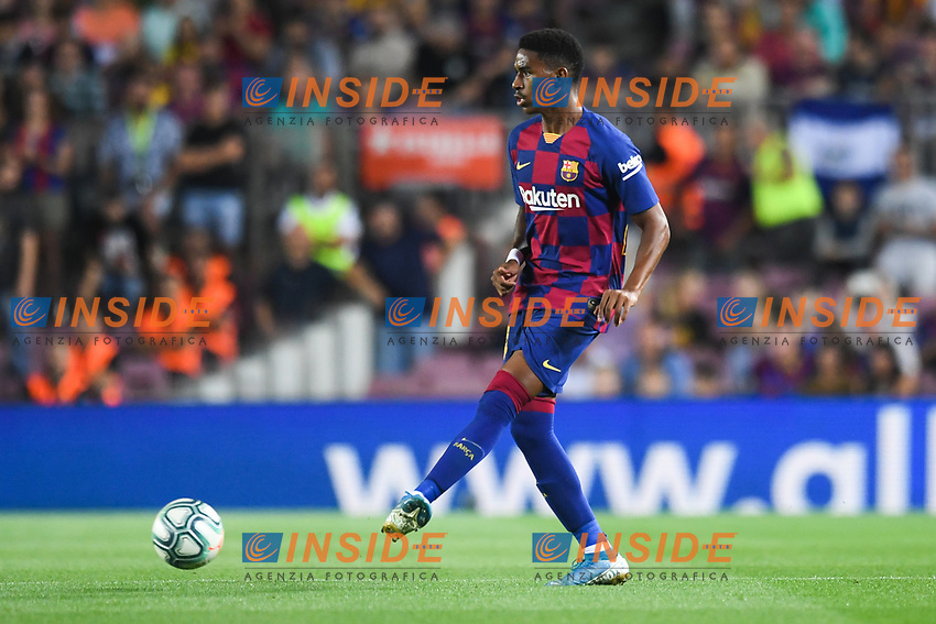 Junior Firpo<br /> 21/01/2016 <br /> Barcelona - Villarreal <br /> Calcio La Liga 2019/2020 <br /> Photo Paco Largo Panoramic/insidefoto <br /> ITALY ONLY