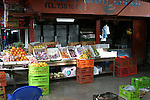 This fruit stand in Limon, Costa Rica was selling fresh fruit from around the world including Washington apples. ..Costa Rica, Limon, Central America, fresh fruit, fresh produce, market
