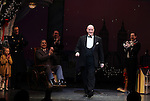 Anthony Warlow & Company during the Broadway Opening Night Performance Curtain Call for 'Annie' at the Palace Theatre in New York City on 11/08/2012