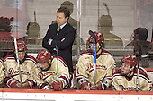 Ryan Dingle, Mike Handza, George Gwozdecky, Tom May, Paul Stastny - The Princeton University Tigers defeated the University of Denver Pioneers 4-1 in their first game of the Denver Cup on Friday, December 30, 2005 at Magness Arena in Denver, CO.