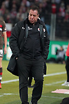 08.02.2019, RheinEnergieStadion, Koeln, GER, 2. FBL, 1.FC Koeln vs. FC St. Pauli,<br />  <br /> DFL regulations prohibit any use of photographs as image sequences and/or quasi-video<br /> <br /> im Bild / picture shows: <br /> Trainer / Headcoach Markus Kauczinski (St. Pauli), <br /> <br /> Foto © nordphoto / Meuter