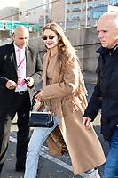 NOVA YORK, EUA, 08.11.2018 - VICTORIA-SECRET - A modelo Gigi Hadid chega para o desfile da Victoria Secret que acontece hoje quinta-feira, 08 em Nova York nos Estados Unidos. (Foto: Vanessa Carvalho/Brazil Photo Press)