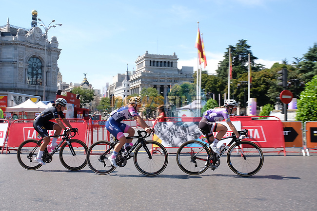 Action from Stage 2 of the Madrid Challenge by La Vuelta 2018, running 98.6km around the streets of Madrid, Spain. 16th September 2018.                   <br /> Picture: Unipublic/Vicent Bosch | Cyclefile<br /> <br /> <br /> All photos usage must carry mandatory copyright credit (© Cyclefile | Unipublic/Vicent Bosch)