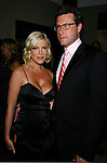 Actress Tori Spelling and Dean McDermott arrive at the NBC Universal 2008 Press Tour All-Star Party at The Beverly Hilton Hotel on July 20, 2008 in Beverly Hills, California.