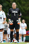 23 August 2015: North Carolina's Bryane Heaberlin. The University of North Carolina Tar Heels played the Fresno State Bulldogs at Fetzer Field in Chapel Hill, NC in a 2015 NCAA Division I Women's Soccer game. UNC won the game 7-0.