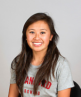 Allison Nguyen with Stanford women's rowing ltw team