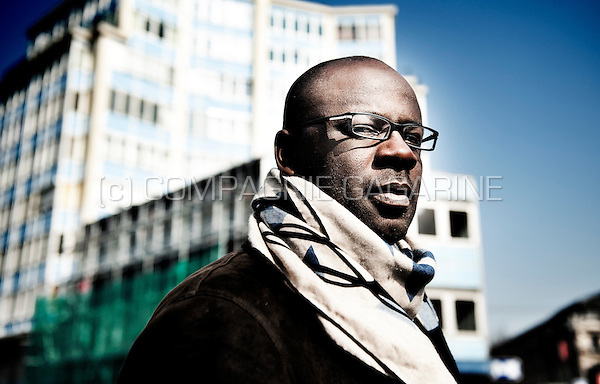 French retired football player Lilian Thuram (Belgium, 17/03/2015)