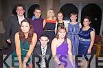 Pictured here at the Dromid GAA Dinner Dance in the Waterville Lake Hotel on Friday night last were front l-r; Shauna O'Sullivan, Chris Farley, Sarah O'Shea, back l-r; John O'Shea, Paul O'Sullivan, Jenny O'Sullivan, Shannon O'Shea, Eileen Garvey &  Rosaleen Mullarkey.