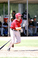 AJ Pollock - Arizona Diamondbacks - 2010 Instructional League.Photo by:  Bill Mitchell/Four Seam Images..
