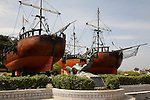 Carabelas Ships, Santander, Cantabria, Spain