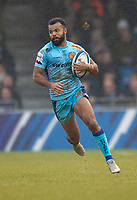 Exeter Chiefs' Tom O'Flaherty<br /> <br /> Photographer Bob Bradford/CameraSport<br /> <br /> European Rugby Heineken Champions Cup Pool 2 - Exeter Chiefs v Castres - Sunday 13th January 2019 - Sandy Park - Exeter<br /> <br /> World Copyright &copy; 2019 CameraSport. All rights reserved. 43 Linden Ave. Countesthorpe. Leicester. England. LE8 5PG - Tel: +44 (0) 116 277 4147 - admin@camerasport.com - www.camerasport.com