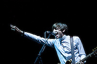 Miles Kane performing at the 19th Festival International of Benicassim, Spain