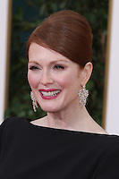 BEVERLY HILLS, CA - JANUARY 13: Julianne Moore at the 70th Annual Golden Globe Awards at the Beverly Hills Hilton Hotel in Beverly Hills, California. January 13, 2013. Credit MediaPunch Inc. /NortePhoto