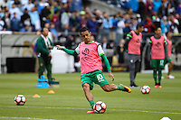 Seattle, WA - Tuesday June 14, 2016: Jhasmani Campos during a Copa America Centenario Group D match between Argentina (ARG) and Bolivia (BOL) at CenturyLink Field.